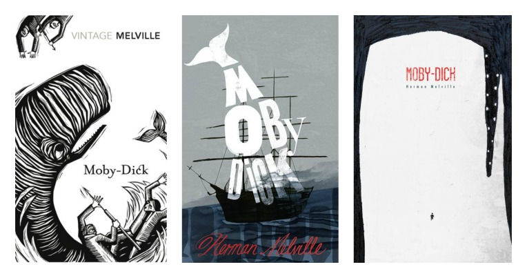 Moby Dick Collage