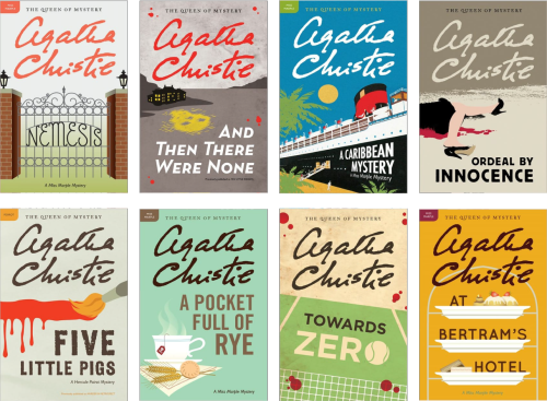 post_agatha christie book covers