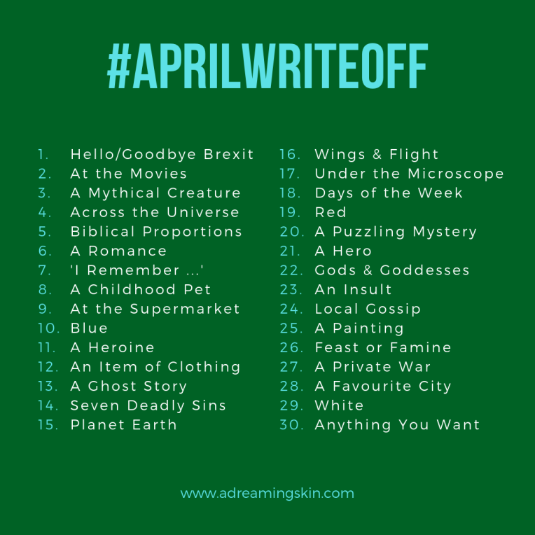 April Write Off_green